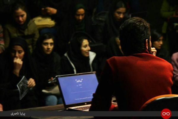 نمایشنامه خوانی نیما نادری