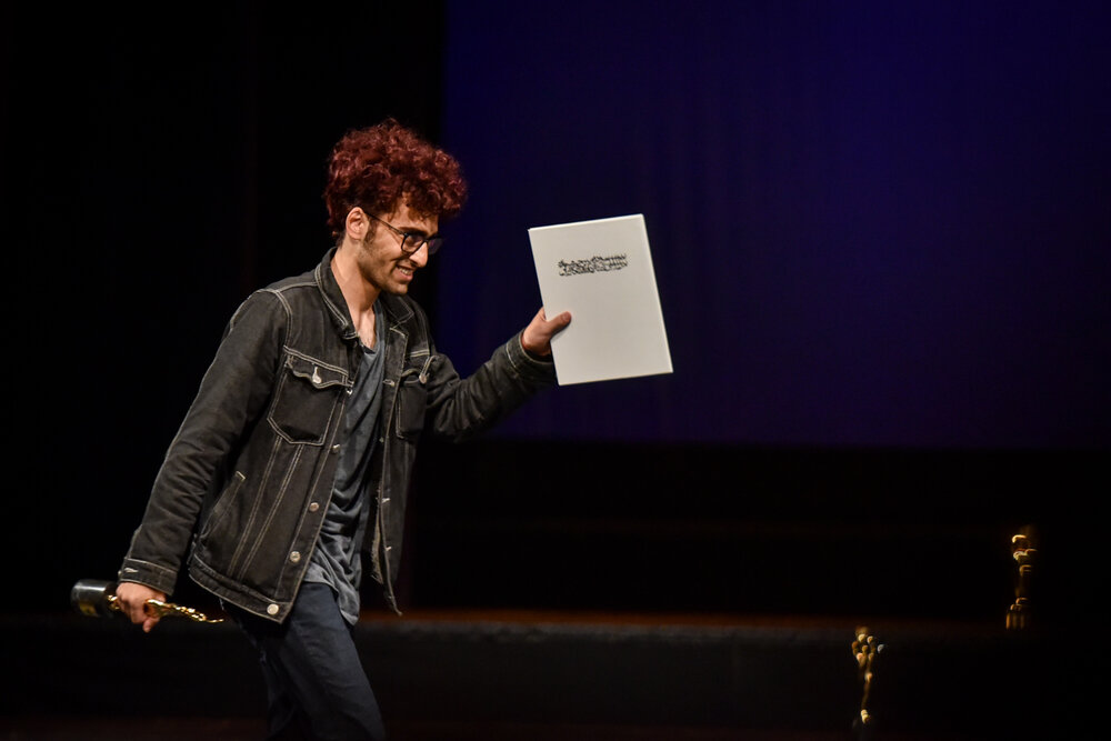 کسب جایزه بهترین نمایش نامه جشنواره تئاتر دانشگاهی ایران